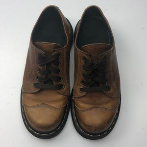 Dr. Martens 8651 Women's Brown Leather Size 4 Shoe